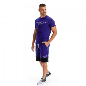 T-shirt Evolution Body Blue 2303KOV