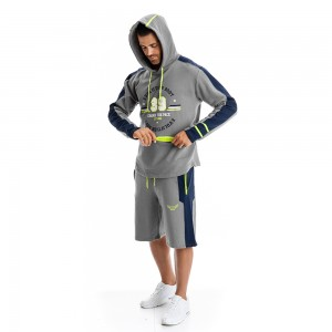 Hoodie Evolution Body Grey 2294G