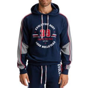 Hoodie Evolution Body Blue 2297
