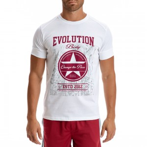 T-shirt Evolution Body White 2288W