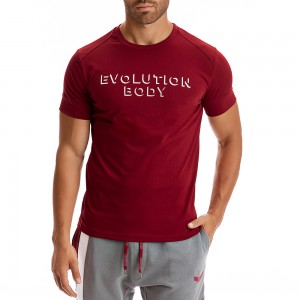 T-shirt Evolution Body Burgundy 2303MP