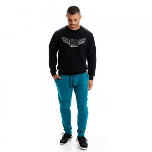 Sweatshirt Evolution Body Black 2432