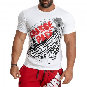 T-shirt Evolution Body White 2276W