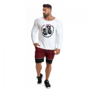 Sweatshirt Evolution Body White 2278W