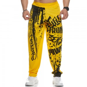 Sweatpants Evolution Body Yellow 2436YELLOW