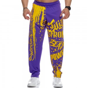 Sweatpants Evolution Body Purple 2436PURPLE