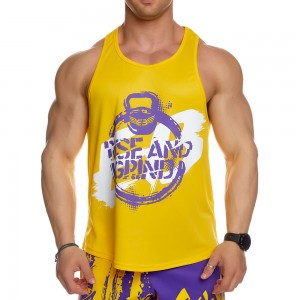 Stringer Tank Top Evolution Body Yellow 2439YELLOW