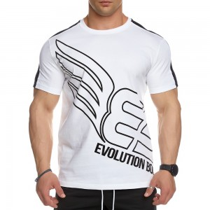 T-shirt Evolution Body White 2446WHITE