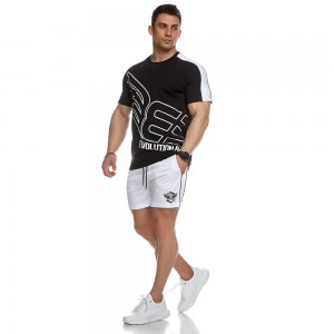 T-shirt Evolution Body Black 2446BLACK