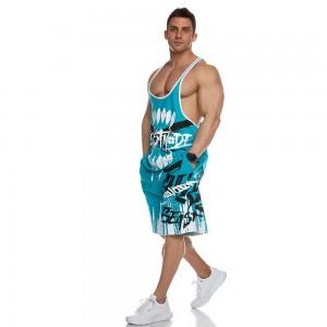 Stringer Tank Top Evolution Body Turquoise 2448TURQ