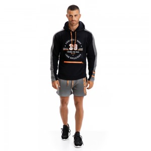 Hoodie Evolution Body Black 2294B