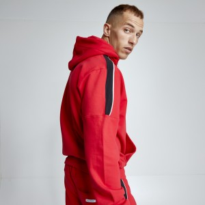 Hoodie Evolution Body Red 2477RED