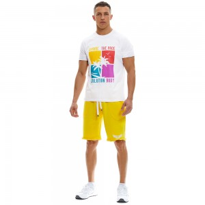 T-shirt Evolution Body White 2339B
