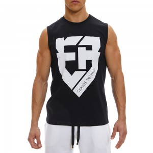 Sleeveless Tank Top Evolution Body Black 2341BL