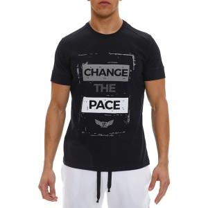 T-shirt Evolution Body Black 2338ABL