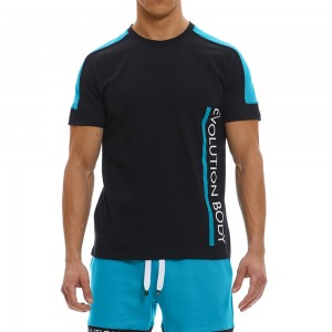 T-shirt Evolution Body Black 2369BL