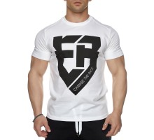 T-shirt Evolution Body White 2428WHITE