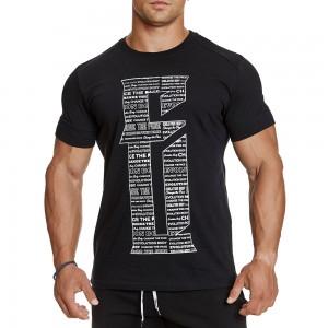 T-shirt Evolution Body Black 2380BLACK