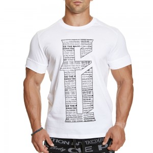 T-shirt Evolution Body White 2380WHITE