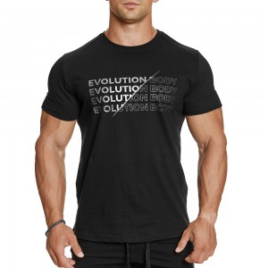 T-shirt Evolution Body Black 2386BLACK