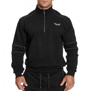 Sweatshirt Evolution Body Black 2412