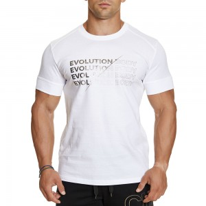 T-shirt Evolution Body White 2386WHITE