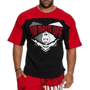 Short sleeve sweatshirt Evolution Body Red 2393RED