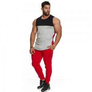 Sleeveless Tank top Evolution Body Red 2389RED
