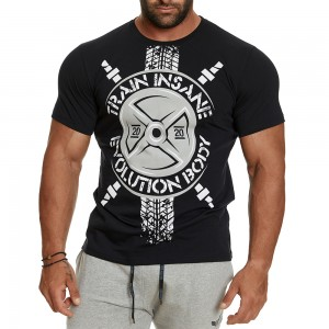 T-shirt Evolution Body Black 2404BLACK
