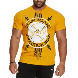 T-shirt Evolution Body Yellow 2404YELLOW