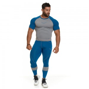 EVO-FIT T-shirt Evolution Body Petrol 2391