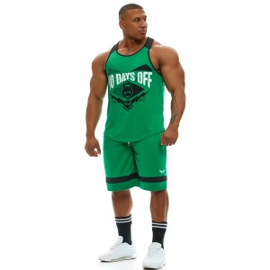 Stringer Tank Top Evolution Body Green 2343GREEN