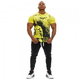 T-shirt Evolution Body Yellow 2371YELLOW