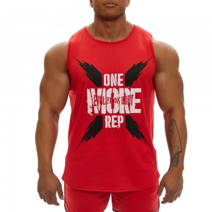 Sleeveless Tank top Evolution Body Red 2356RED