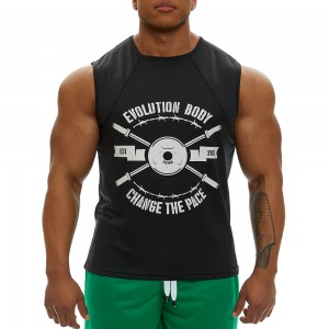 Sleeveless Tank Top Evolution Body Black 2350black