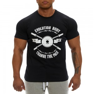 T-shirt Evolution Body Black 2355ABL