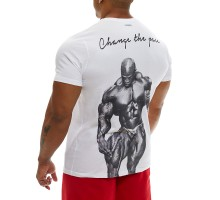 T-shirt Evolution Body White 2349Β