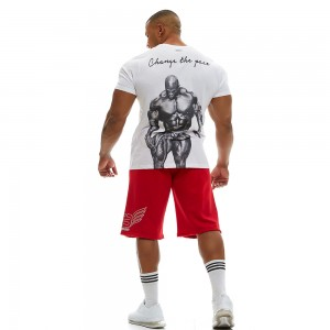 T-shirt Evolution Body White 2349Β