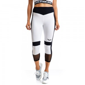 EVO-FIT Short Leggings Evolution Body White 2314W