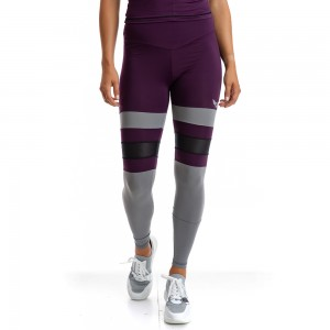 EVO-FIT Leggings Evolution Body Burgundy 2318DAM