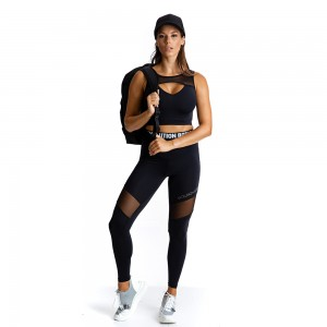 Sports Bra Evolution Body Black 2319B