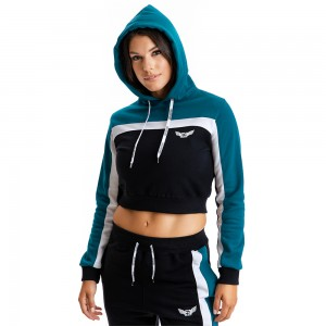 Hoodie Evolution Body Petrol 2330PET