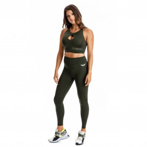 EVO-FIT Sports Bra Evolution Body Khaki 2332KH