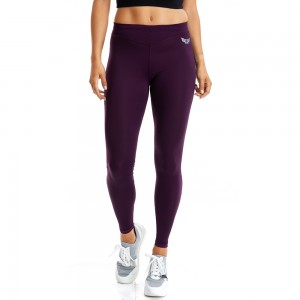 EVO-FIT Leggings Evolution Body Burgundy 2333DAM