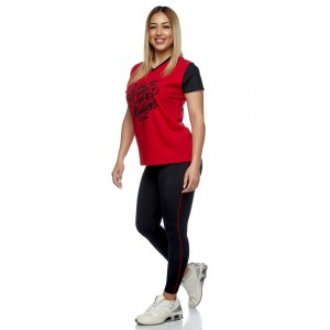 T-shirt Evolution Body Red 2426RED