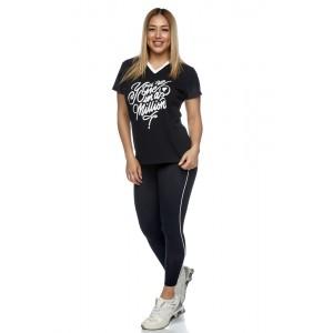 T-shirt Evolution Body Black 2426BLACK