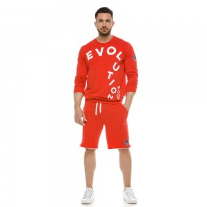 Sweatshirt Evolution Body Red 2120