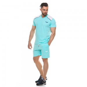 T-shirt Evolution Body Aqua 2148