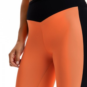 Short Leggings Evolution Body Orange 2314OR
