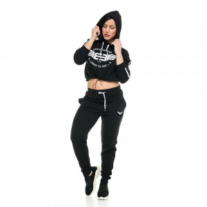 Hoodie Evolution Body Black 2227 BLACK